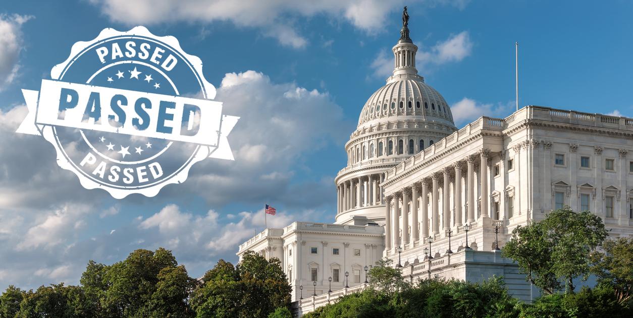 US House of Representatives Passes ASC Bill